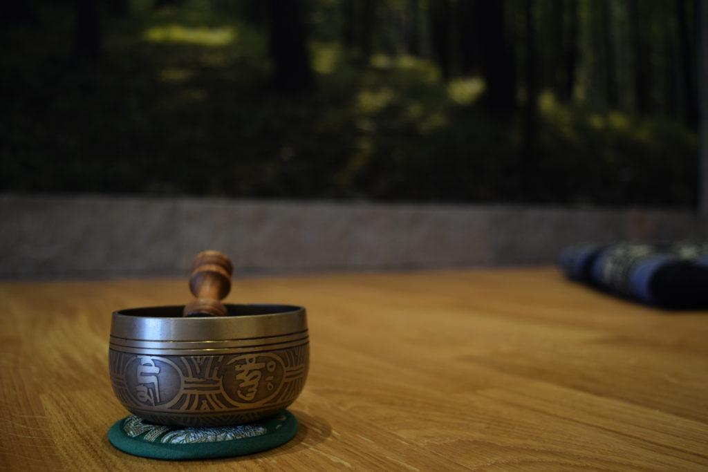 Klangschalenmassage Meditation
